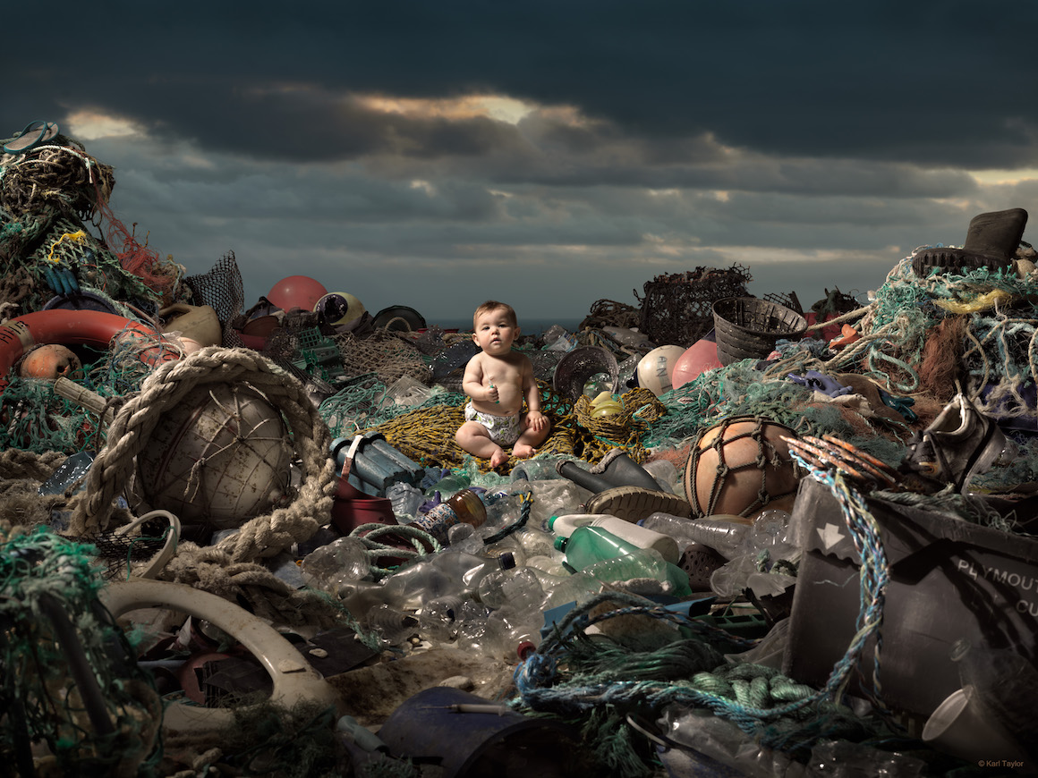 Credit Karl Taylor - Plastic Pollution